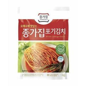 【冷蔵】 宗家 白菜キムチ 1kg (韓国直輸入白菜キムチ)※5個以上は予約販売品 ※