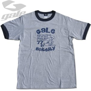 GALE ゲール リンガーTee(GL-678)GRY/NVY 2021モデル surf-alphas