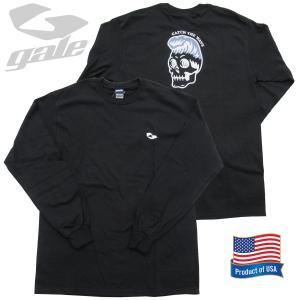 GALE ゲール ウルトラ コットンロングスリーブTシャツ(GL-356)BLK 2020FWモデル surf-alphas