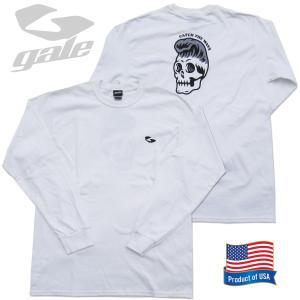 GALE ゲール ウルトラ コットンロングスリーブTシャツ(GL-356)WHT 2020FWモデル surf-alphas