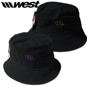WEST SUITS ウエストスーツ Bucket Hat (Front Embroidery)バケットハット 2021モデル|surf-alphas