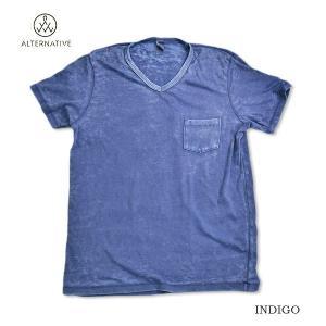 alternative/apparel/Vネック/ポケット/バーンアウト|surfbiarritz-store