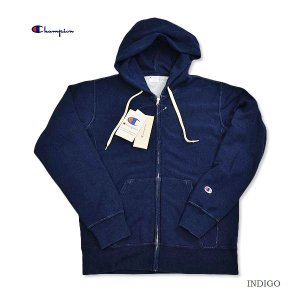 Champion/チャンピオン/リバースウィーブ/ ジップパーカー/indigo/REVERSE WEAVE/ZIP HOODED SWEAT|surfbiarritz-store