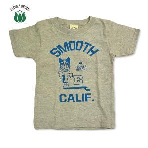 FLOWER BEACH /SMOOTH/S/STEE/Tシャツ/ビンテージ/染み込み/KIDS/キッズ|surfbiarritz-store