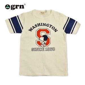 grn/フットボール/Tシャツ/スヌーピー/SNOOPY|surfbiarritz-store