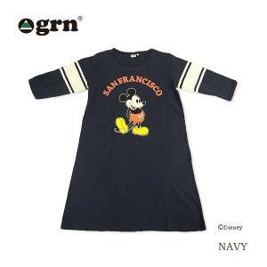 grn/ワンピース/フットボール/ミッキー/ディズニー|surfbiarritz-store