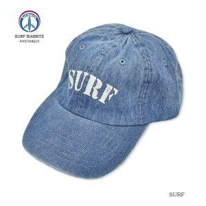SURF BIARRITZ/DENIM CAP|surfbiarritz-store