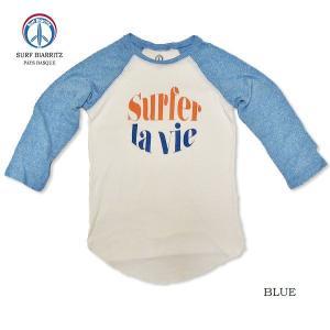 SURF BIARRITZ/TriBlend/BASEBALL TEE/la vie/ラグラン/7分/raglan/3/4|surfbiarritz-store