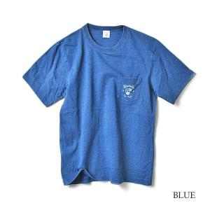 SURF BIARRITZ/INDIGO/POCKET/T-shirt/Tシャツ/ポケット|surfbiarritz-store