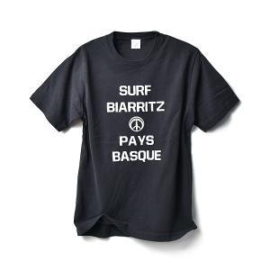 SURF BIARRITZ/PIGMENT/BASIC/T-SHIRT/Tシャツ/BLACK|surfbiarritz-store