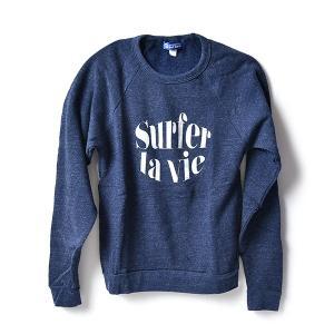 SURF BIARRITZ/la vie/sweat/トライブレンド/裏起毛|surfbiarritz-store