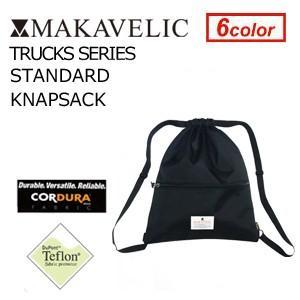 MAKAVELIC TRUCKS STANDARD KNAPSACK BLACK マキャベリック トラックス スタンダード ナップサック ブラック|surfer