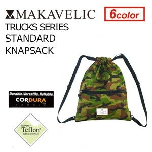 MAKAVELIC TRUCKS STANDARD KNAPSACK MULTI マキャベリック トラックス スタンダード ナップサック マルチ|surfer