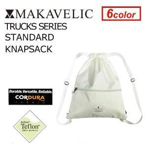 MAKAVELIC TRUCKS STANDARD KNAPSACK WHITE マキャベリック トラックス スタンダード ナップサック ホワイト|surfer