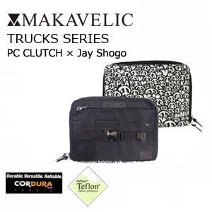 MAKAVELIC × Jay Shogo TRUCKS PC CLUTCH BLK×WHT マキャベリック トラックス クラッチ ブラック×ホワイト|surfer