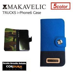 MAKAVELIC TRUCKS i-Phone6 Case BLUE-NAVY マキャベリック トラックス アイフォンケース ブルーネイビー(アイフォン6専用)|surfer