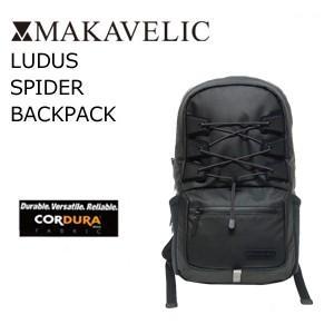 送料無料 MAKAVELIC LUDUS SPIDER BACKPACK マキャベリック ルーダス スパイダー バックパック|surfer
