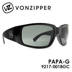 送料無料,VONZIPPER,ボンジッパー,サングラス,アイウェアー●PAPA-G■9217-001BGC|surfer