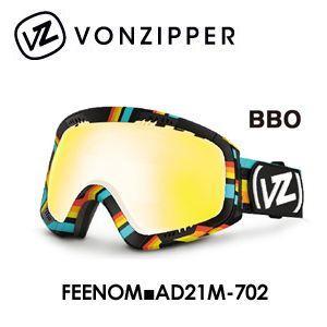 【送料無料】,日本正規品,2014年モデル,VONZIPPER,ボンジッパー,ゴーグル,スノーボード●FEENOM■AD21M-702-BBO surfer