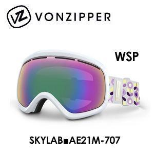【送料無料】,日本正規品,2015年モデル,VONZIPPER,ボンジッパー,ゴーグル,スノーボード,マフ付●SKYLAB■AE21M-707-WSP surfer