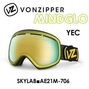 【送料無料】,日本正規品,2015年モデル,VONZIPPER,ボンジッパー,ゴーグル,スノーボード●SKYLAB■AE21M-706-YEC surfer