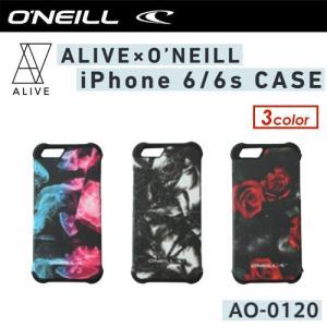 O'NEILL オニール アクセサリー ブランド コラボ ケース sale/ALIVE × O'NEILL iphone 6 / 6s CASE|surfer