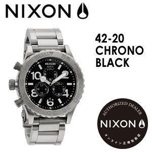 NIXON,ニクソン,腕時計,正規取扱店●42-20CHRONO-BLACK|surfer