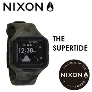 NIXON,ニクソン,腕時計,正規取扱店●SUPERTIDE-MARBLED-CAMO|surfer
