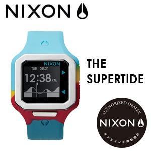 NIXON,ニクソン,腕時計,正規取扱店●SUPERTIDE-SEAFOAM-MAGENTA-YELLOW|surfer