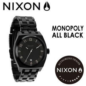 NIXON,ニクソン,腕時計,正規取扱店●MONOPOLY-ALLBLACK|surfer