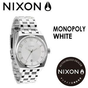 NIXON,ニクソン,腕時計,正規取扱店●MONOPOLY-WHITE|surfer