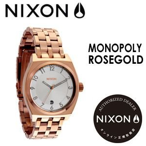 NIXON,ニクソン,腕時計,正規取扱店●MONOPOLY-ROSEGOLD|surfer