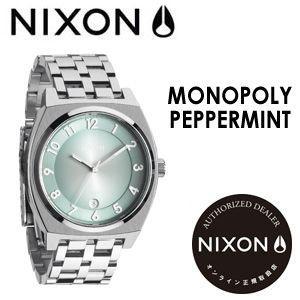 【あすつく対応】NIXON,ニクソン,腕時計,正規取扱店●MONOPOLY-PEPPERMINT|surfer
