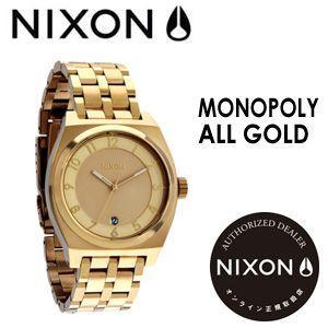 NIXON,ニクソン,腕時計,正規取扱店●MONOPOLY-ALLGOLD|surfer