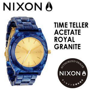 NIXON,ニクソン,腕時計,正規取扱店●TIMETELLERACETATE-ROYALGRANITE|surfer