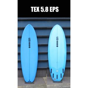 LSD,SURFBOARDS,LUKESHORT,ルーク,SURFBOARDEGENCY●LSD TEX 5.8 BLUE surfer