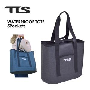 TOOLS トゥールス サーフィン 防水 ウェットバッグ トートバッグ 大容量/TLS WATERPROOF TOTE 5Pockets|surfer