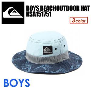 あすつく QUIKSILVER クイックシルバー サーフハット KIDS 子供用 日焼け防止/BOYS BEACHOUTDOOR HAT KSA151751 surfer
