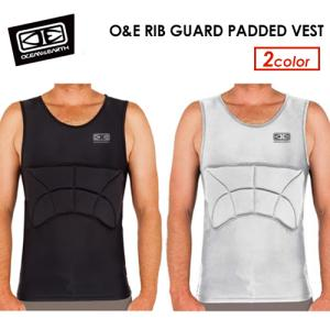 OCEAN&EARTH オーシャンアース パッド付ラッシュガード 肋骨 保護 ベスト/O&E RIB GUARD PADDED VEST|surfer