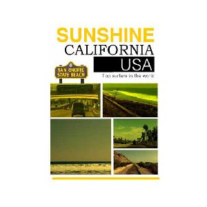 サーフィン,サーフィンDVD●SUNSHINE CALIFORNIA|surfer