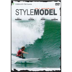 サーフィンDVD,ショート,TabrigadeFilm,タブリゲイデ,スタイルモデル●STYLE MODEL VOL.1 BOTTOM TURN ボトムターン|surfer