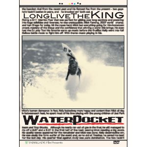 サーフィン サーフィンDVD TabrigadeFilm タブリゲイデフィルム/Water Pocket IV- Long LiveThe King- ウォーターポケット4|surfer