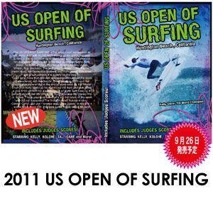 サーフィンDVD ショート/2011 THE US OPEN OF SURFING|surfer