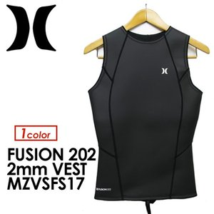 【送料無料】Hurley,ハーレー,ウェットスーツ,ベスト,17ss●2017 FUSION 202 VEST MZVSFS17|surfer