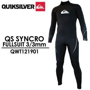 QUIKSILVER クイックシルバー ウェットスーツ フルスーツ/QS SYNCRO FULLSUIT 3/3mm QWT121901 surfer
