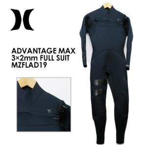 【送料無料】Hurley,ハーレー,ウェットスーツ,フルスーツ,19ss●ADVANTAGE MAX 3×2mm FULL SUIT MZFLAD19|surfer