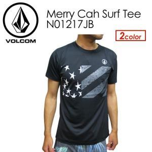 Volcom,ボルコム,Tシャツ,ラッシュガード,半袖,サーフT,17su●Merry Cah Surf Tee N01217JB|surfer