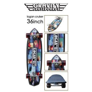 gravity グラビティー スケートボード コンプリート/LOGAN CRUISER 36