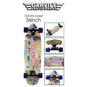 あすつく gravity グラビティー スケートボード コンプリート/GRAVITY CRUISER 36
