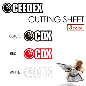 CEEDEX シーデックス BB.ボディボード ステッカー/CUTTING SHEET カッティングシート|surfer